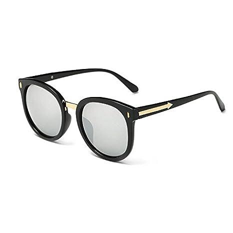 Aoligei Retro-Sonnenbrille ARROW Sonnenbrille Frauen Stil große Kiste helle Farbe Gläser 0mV15