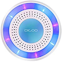 DIGOO DG-ROSA 433MHz Wireless DIY Standalone Alarm, Multi-Function Home Security Alarm Systems Host & Set, for Home Security & Surveillance