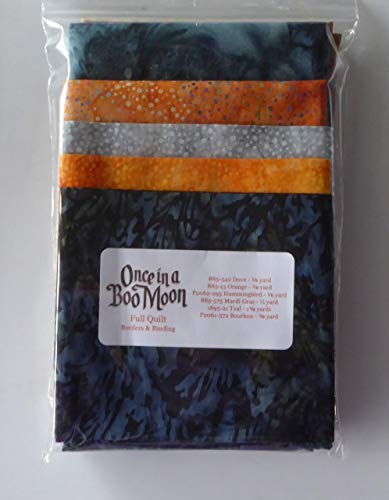 McKenna Ryan~Once in a Boo Moon~Border and Binding~for Full Quilt~Halloween
