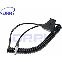 DRRI Odyssey Neutrik 3Pin D-Tap Power Coiled Cable for Odyssey 7Q Monitor/Recorder