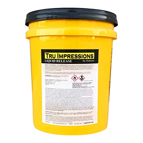 (Walttools Liquid Release for Concrete Stamps, Countertop Edge Forms, Tools (5)
