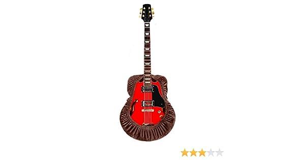 Funda para guitarra, protector de guitarra ajustable, funda protectora para guitarra eléctrica acústica, se adapta a guitarras clásicas, flamenco, arcos y Cutaway, marrón: Amazon.es: Instrumentos musicales
