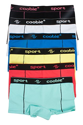 6 Pack Coobie Sports Shorts (S)