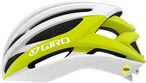 Giro Syntax MIPS Cycling Helmet - Citron/White Medium (Best Bike Brands For Women)