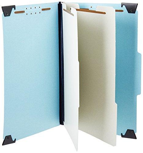 Pendaflex Hanging Classification Folders, Legal Size, 10 Per Box, Blue by Pendaflex