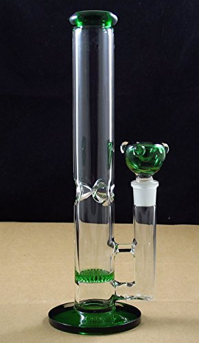 New GLASS Handmade 10 Inch Tall 18.8mm Join (Green)