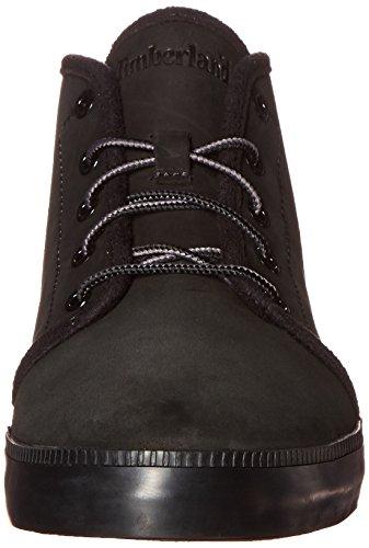 Timberland Heren Newport Bay Leer Chukka Fashion Sneaker Zwart Nubuck