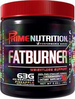 Prime Nutrition Fat Burner Supplement, Pineapple, 63