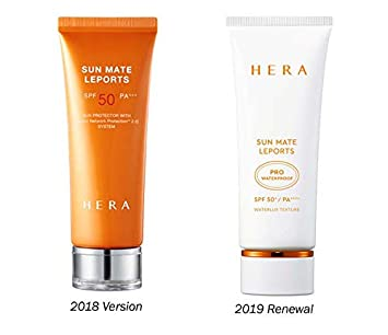 HERA Sun Mate Leports 2.37 Oz/70ML (SPF50+ / PA++++) 2019 Renewal Version