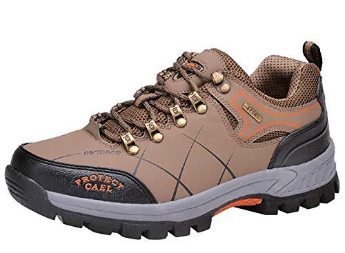 Air Hommes Cuir Bottes Baskets Trekking Chaussures En L'entraînement coloré Marche De Taille Plein Fuxitoggo Pour 41eu 7 Randonnée xO8x4