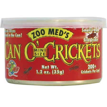 Zoo Med Can O' Crickets (1.2 oz)
