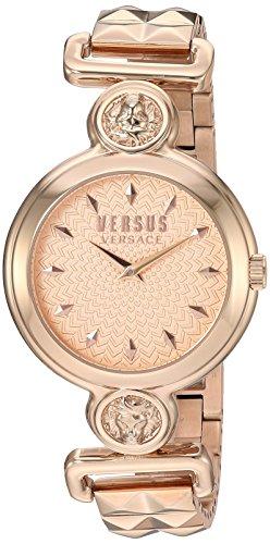 Versus by Versace Women's SUNNYRIDGE Extension Quartz Watch with Strap, Rose Gold, 85 (Model: VSPOL3518)