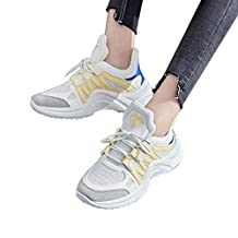 WuyiMC Mesh Breathable Women Shoes Athletic Walking Casual Sneakers Sports