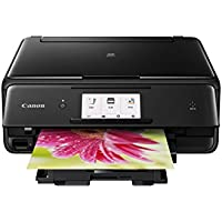 Canon Pixma TS8020 Wireless Inkjet All-in-One Printer Black