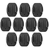 10 Pack of 3M Flat Adhesive Mounts for GoPro Camera Case