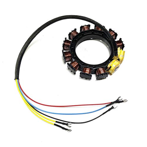 JETUNIT Outboard Stator For Mercury 40HP 10AMP 2 Cylinder 398-5255 398-5256 398-4770 174-5255 ()