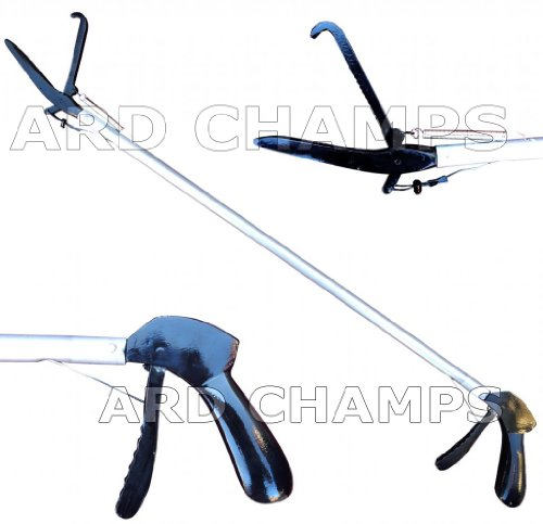 60'' Basic SNAKE TONGS Reptile Grabber Rattle Snake Catcher JAW Handling Tool by ARD Champs