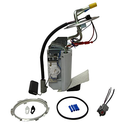 Ford Fuel Pump Assembly SP2007H for 1991-1996 Ford F Super Duty V8-7.5L, for 1991-1997 Ford F-150 L6-4.9L, for 1991-1997 Ford F-350 V8 (After Axle Tank; Steel Tank; 18 Gal) TOPSCOPE FP2159M