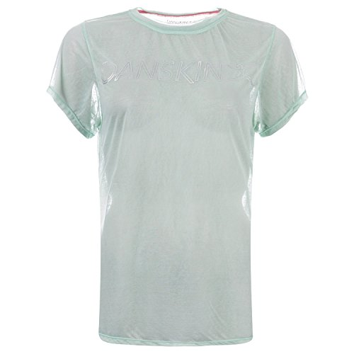 Danskin Women's Frumboli Tshirt Frosty 12 Green - Danskin Green Shirt