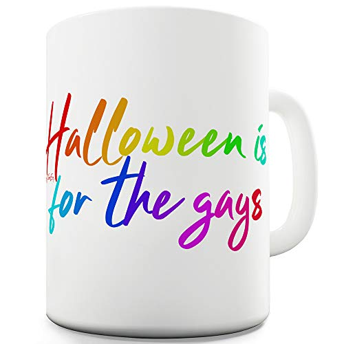 Halloween Is For The Gays 11 OZ Funny Mugs For Work ()