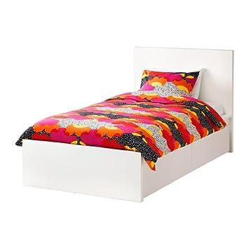 Ikea 2382.5517.48 - Marco de Cama Doble (2 Cajas de Almacenamiento), Color Blanco: Amazon.es: Juguetes y juegos