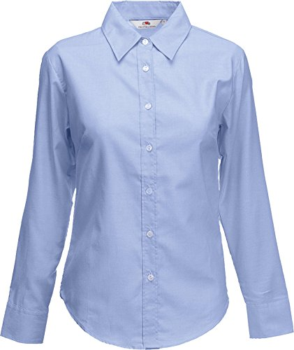Fruit of the Loom - Polo - para hombre Azul - Oxford Azul