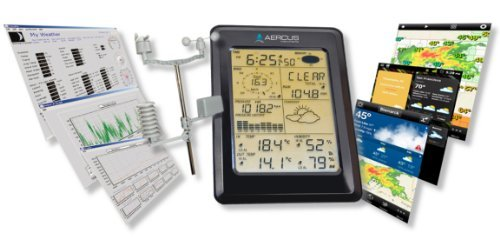 Weather Station Wireless WS1093 with Touch Screen & Internet Upload + Free...