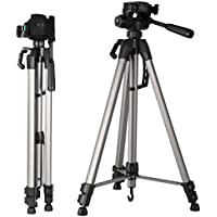 K&F Concept Lightweight Camera Tripod 66 Inch Aluminum Alloy Tripods with Head Quick Release Plate for Digital Canon Nikon Sony Tamorn DV