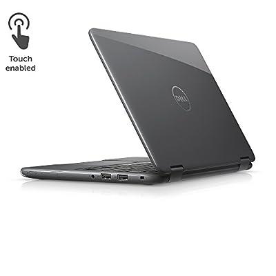 """Dell i3168-0027RED 11.6"""" HD 2-in-1 Laptop (Intel Celeron N3060 1.6GHz Processor, 2 GB DDR3L SDRAM, 32 GB SDD, Windows 10) Tango Red"""