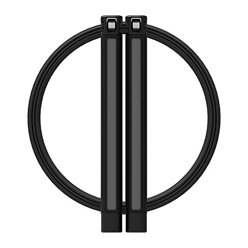 RPM Speed Rope Sprint (Black / Gray) by RPM Fitness