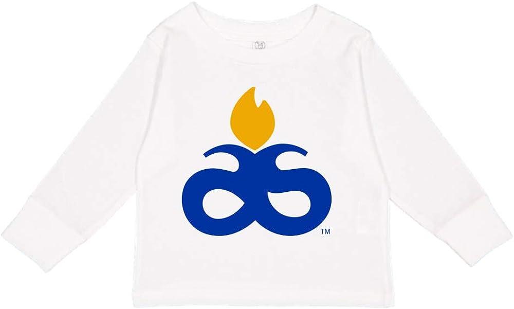 NCAA Albany State Golden Rams PPAUN08 Toddler Long-Sleeve T-Shirt
