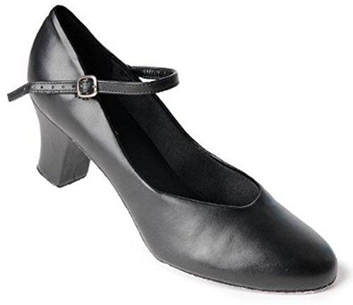 Women's Ballet Single Shoes (Black) - 5
