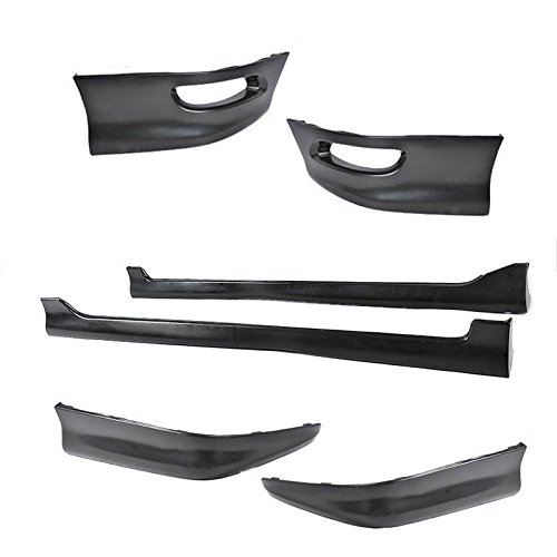 Toyota Corolla S Style Full Set Body Kit Lip Spoiler Lower PP Side Skirt 05-08