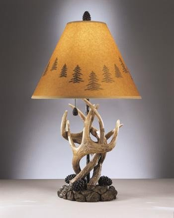 Deer 100w Table Lamp - Ashley L316984 Antlers Table Lamps, Set of 2