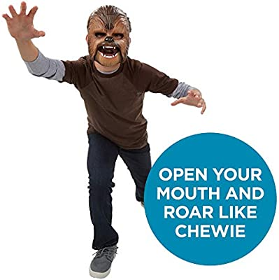 Star Wars Movie Roaring Chewbacca Wookiee Sounds Mask – Funny