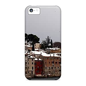 New Premium Dana Lindsey Mendez Seaside Town Of Valdibora Croatia In Winter Skin Case Cover Excellent Fitted For Iphone 5c