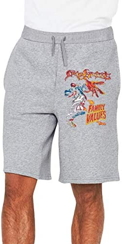 リンプ・ビスケット Family Values Tour メンズ ショートパンツ トレーニング 短パンツ ハーフパンツ ファッション スポーツ 吸汗速乾