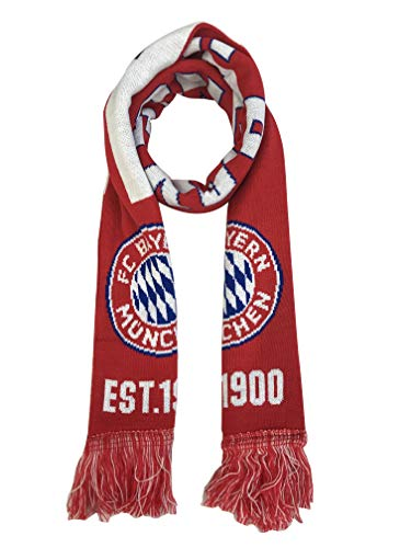FC Bayern Double Sided Soccer Scarf ()