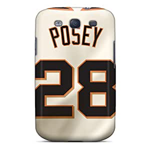 Protective Tpu Cases With Fashion Design For Galaxy S3 (san Francisco Giants)
