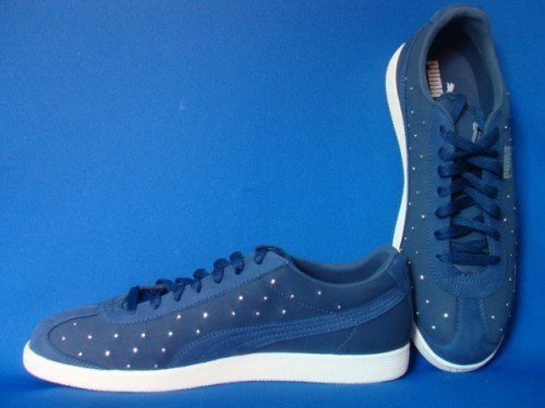 Puma Flipper Rivet Swarovski Sneaker blau, Größe:40: Amazon