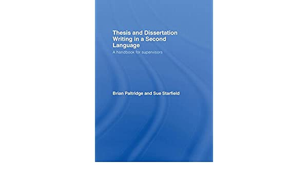 Abd dissertation writing in a second language dissertation occupational health safety