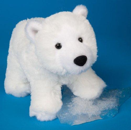 Cuddle White Bear - Douglas Cuddle Toys Whitey Polar Bear 7