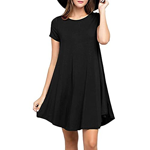 Simple Short Black Dresses