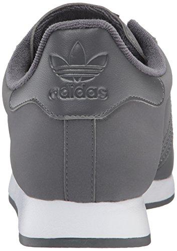 Originali Adidas Mens Samoa Grigio Cinque / Bianco / Oro Metallizzato