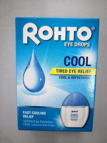 ROHTO Eye Drops Cool 13ml Tired Eye Relief - Cool & Refreshing