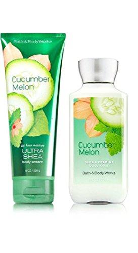 Bath & Body Works Cucumber Melon Body Cream & Lotion ()