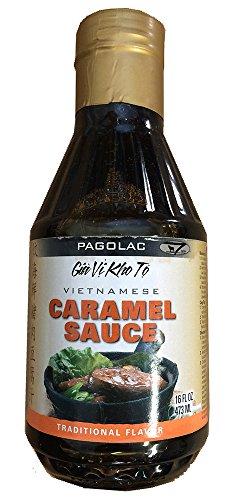 Pagolac Vietnamese Caramel Sauce, 16 Ounce