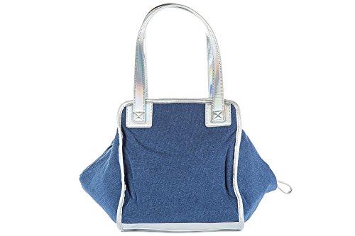 Emporio Armani EA7 sac à main femme tote indigo holdall blu