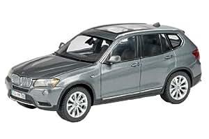 Schuco 450744600 BMW X3 - Coche en miniatura (escala 1:43), color gris