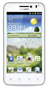 "Huawei Honor - Móvil libre (pantalla táctil de 4"" 854 x 480, procesador de 1400 MHz) color blanco (importado)"